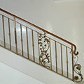 wrought iron balustrade