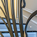 internal iron balustrade